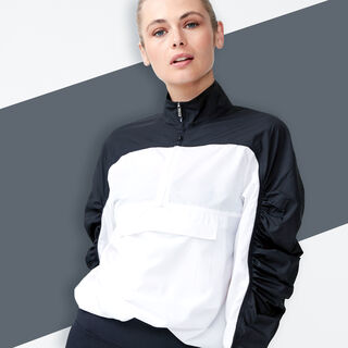 NEW! BLOCKED ANORAK