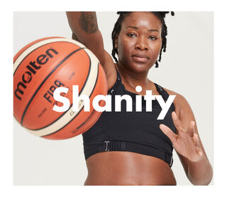 """""""I am an American professional basketball player currently playing in Sweden.I am grateful for being a woman and being able to create life. Becoming a mother has evolved me as a person in so many ways. Being a professional basketball player, I practice 5-6 times a week and do weightlifting twice a weak. As my body has matured, I have tried to find pieces that make me feel more comfortable and secure."""""""