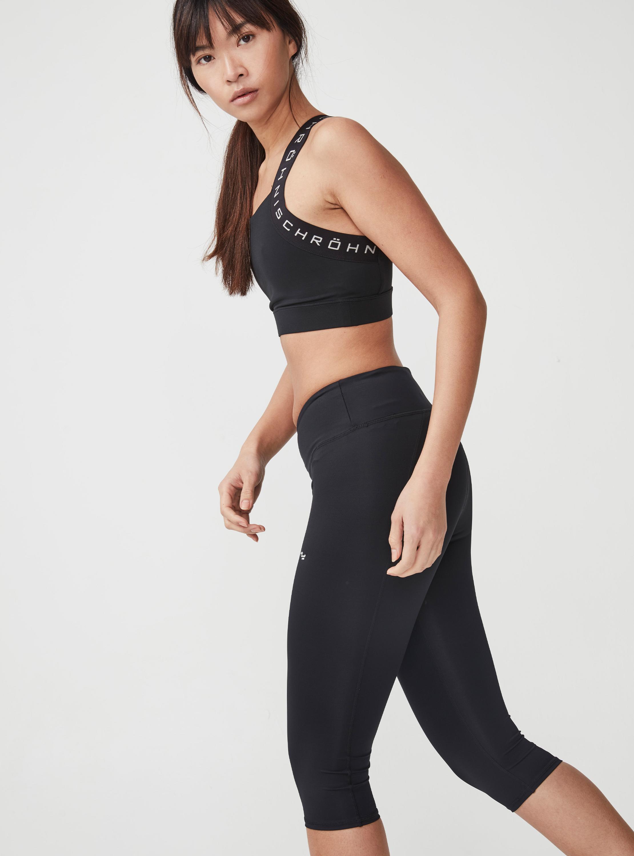 Rohnisch Shape Capri Gym Leggings with Compression HALF PRICE RRP £49.95