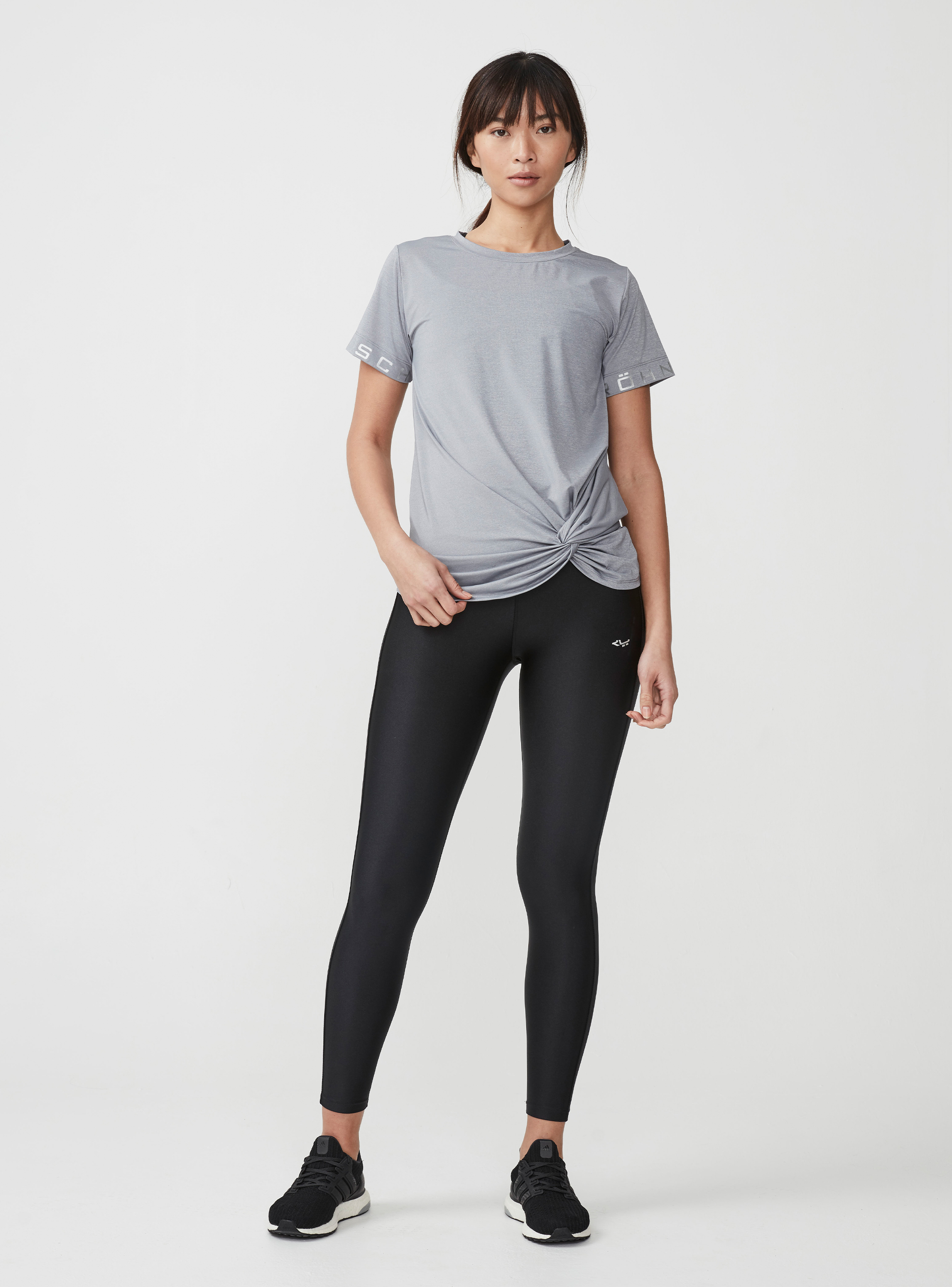 Shop the look - Knot tee, Grey